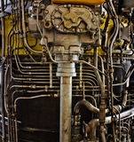 Projeto complexo do metal Fotos de Stock Royalty Free