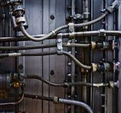 Projeto complexo do metal Imagem de Stock