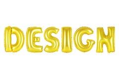 Projeto, cor do ouro imagens de stock royalty free