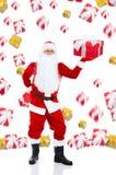 Projeto creativo de Papai Noel Foto de Stock Royalty Free