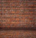 Projeto criativo da arte velha da parede de tijolo 3D ilustração do vetor