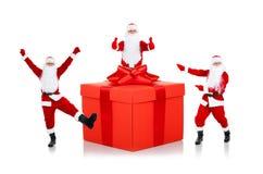 Projeto criativo de Papai Noel Imagens de Stock