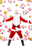 Projeto criativo de Papai Noel Imagens de Stock Royalty Free