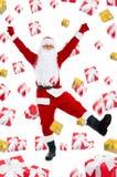 Projeto criativo de Papai Noel Fotografia de Stock