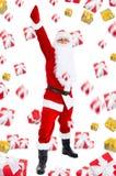 Projeto criativo de Papai Noel Foto de Stock Royalty Free