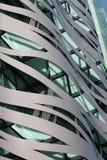 Projeto da arquitetura dos edifícios da rua Imagem de Stock