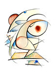 Projeto da arte abstrata Imagem de Stock