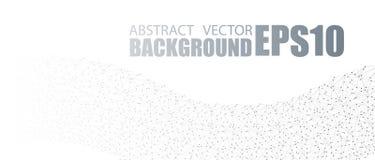 Projeto da bandeira do vetor, pontos de conexão e linhas Conexão de rede global Fundo abstrato conectado geométrico ilustração stock