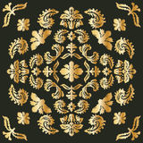 Projeto da bandeira inspirado pelo estilo vitoriano Foto de Stock Royalty Free