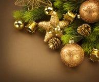 Projeto da beira do Natal Imagem de Stock