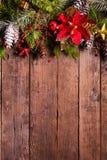 Projeto da beira do Natal Fotos de Stock Royalty Free