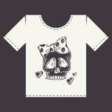 Projeto da cópia da camisa de T Imagem de Stock