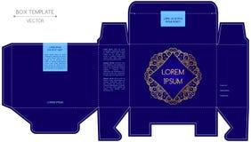 Projeto da caixa, estampagem Foto de Stock