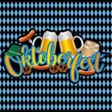 Projeto da celebração de Oktoberfest Foto de Stock