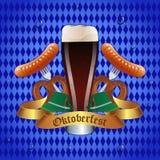Projeto da celebração de Oktoberfest Imagem de Stock