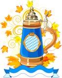 Projeto da celebração de Oktoberfest Fotos de Stock Royalty Free