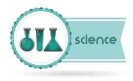 Projeto da ciência e da química Imagem de Stock