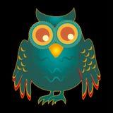 Projeto da coruja ilustração stock
