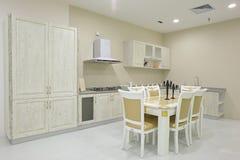 Projeto da cozinha Imagem de Stock Royalty Free
