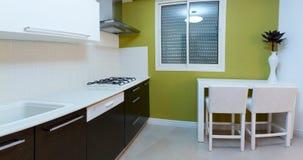 Projeto da cozinha Fotografia de Stock