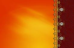 Projeto da disposição do fractal do fundo da foto Imagens de Stock