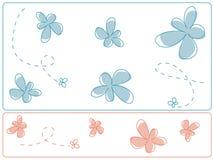 Projeto da flor Fotos de Stock