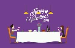 Projeto da ilustração do dia do ` s do Valentim Fotos de Stock Royalty Free
