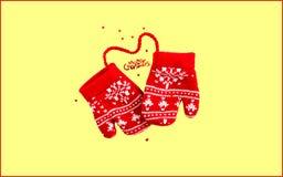 Projeto da ilustração do Natal imagens de stock royalty free