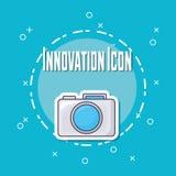 Projeto da inovação e da tecnologia Ilustração do Vetor