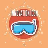 Projeto da inovação e da tecnologia Ilustração Royalty Free