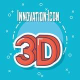 Projeto da inovação e da tecnologia Ilustração Stock