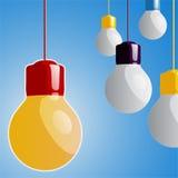 Projeto da lâmpada Imagens de Stock Royalty Free