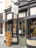 Projeto da loja na cidade holandesa de Heusden. Imagens de Stock Royalty Free