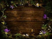 Projeto da mola - grinalda da flor Imagem de Stock Royalty Free