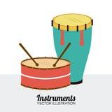 Projeto da música Imagens de Stock Royalty Free
