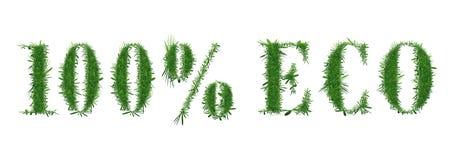 Projeto da natureza eco 100 Imagens de Stock