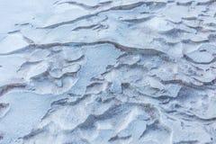 Projeto da neve e da areia Imagens de Stock Royalty Free
