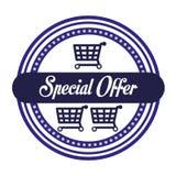 Projeto da oferta especial Imagem de Stock