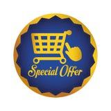 Projeto da oferta especial Imagens de Stock Royalty Free
