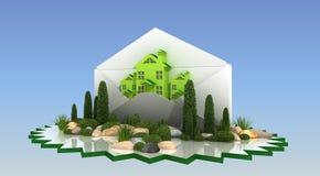 Projeto da paisagem Imagens de Stock