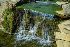 Projeto da paisagem da cachoeira da lagoa Fotografia de Stock Royalty Free