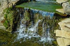 Projeto da paisagem da cachoeira da lagoa Imagem de Stock Royalty Free