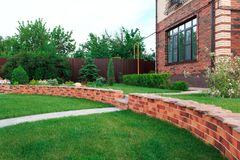 Projeto da paisagem e seus elementos na fotografia Fotografia de Stock Royalty Free