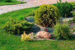 Projeto da paisagem e seus elementos na fotografia Imagens de Stock Royalty Free