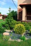 Projeto da paisagem e seus elementos na fotografia Imagem de Stock Royalty Free