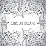 Projeto da placa de circuito Foto de Stock