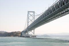 Projeto da ponte de Honshu Shikoku Imagem de Stock