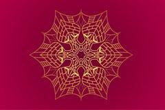 Projeto da posição de Mandala Designe Out Fotos de Stock Royalty Free