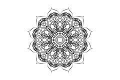 Projeto da posição de Mandala Designe Out Imagem de Stock Royalty Free