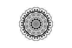 Projeto da posição de Mandala Designe Out Imagem de Stock